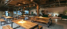 Dine restaurant celebrate evening garten eden industrial cologne